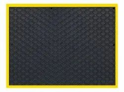 Yellow Border Anti-Fatigue Mat (Warranty: 2 Years)