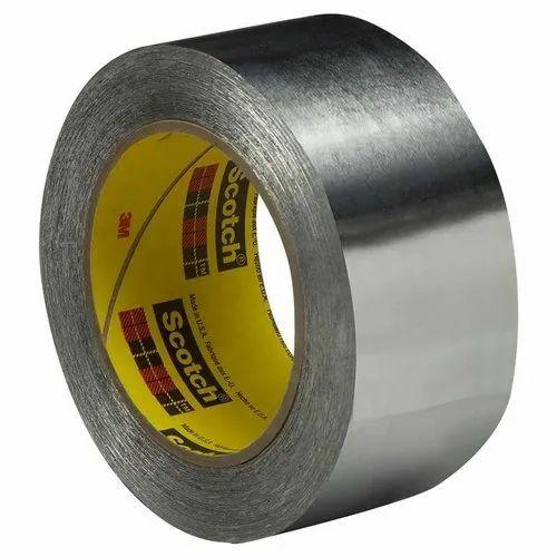 3M High Temperature Aluminum Foil Tape 433L
