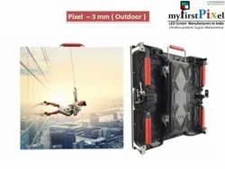 P3mm Outdoor Rental LED Display Cabinet