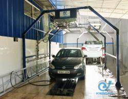 Robotic Car Wash System