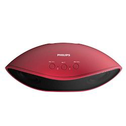 Philips BT4200 Red Portable Bluetooth Speaker