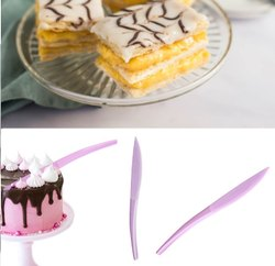 Pink Cake Knife, Plastic Type: Pp, Size: 19 Cm