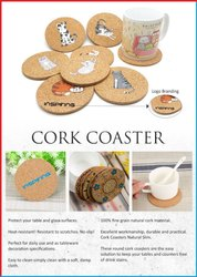 Cork Printed Coaster