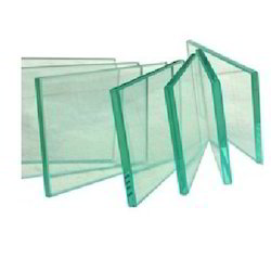 10-50 Square Feet Transparent Toughened Glass
