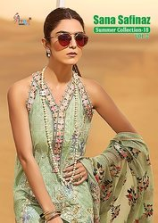 SHREE FAB SANA SAFINAZ SUMMER COLLECTION -18 VOL NO-2 PAKISTANI PRINTED SALWAR KAMEEZ