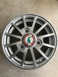 3 Wheeler Cargo Tempo Alloy Wheel