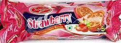 Strawberry Cream Biscuit