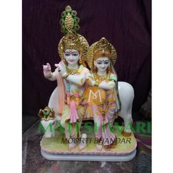Radha Krishna Traditional Designer Statues