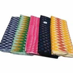 Textured Ikat Fabric Dress Material