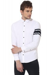 White Sleeve Club Wear Shirt