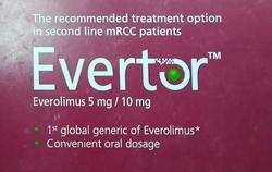 Evertor 10MG (Everolimus 10mg )