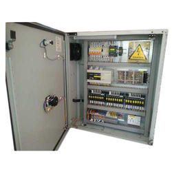 Mild Steel Power Control Panel, For PLC Automation