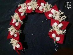 Red Rose Flower brooch
