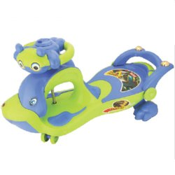 1 Blue And Green Baby Plasma Car
