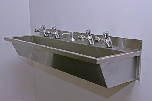 Superbe Hand Wash Trough Wall Mounted