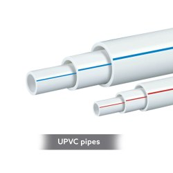 Round UPVC Pipes, Length: 3m