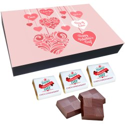 Happy Valentine Chocolate Gifts, Packaging Type: Box