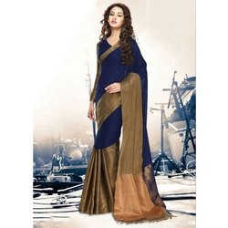 Party Wear Ladies Ethnic Saree, 6.3 M (with Blouse Piece)