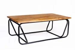 iron centre table