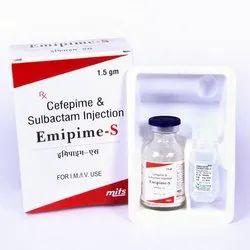 Cefepime 1 gm, Sulbactam 500 mg