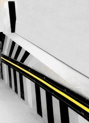 Single Yellow Strip Wall Guard
