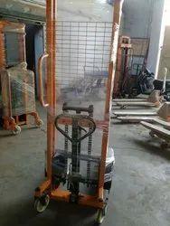 Adjustable Hydraulic Manual Stacker