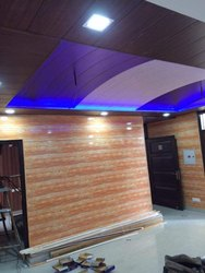Shubhgreh Interior Multicolor Designer PVC Panels, Size: 10 Ft