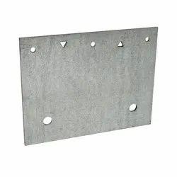 Rectungular Mild Steel Base Plates, Size: 5x5 Feet