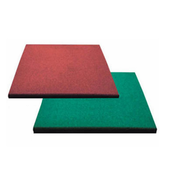 100 Pure Recycled Granules Rubber Floor Coverings