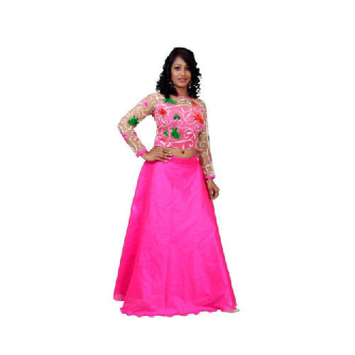058675563aa0a8 WOW Long Umbrella Skirt With Crop Top, Rs 3500 /set, Sri Sai Shantha ...