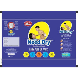NEED DRY White diaper, Age Group: 3-12 Months, Packaging Type: Loose,Packet