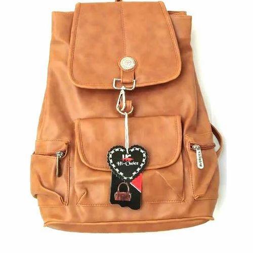 4251a3b9a4 Hi- Choice Brown Girls Fancy College Bag