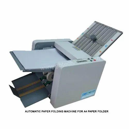 Paper Folding Machine A 4 Automatic Desktop Paper