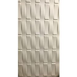WPC 3D Cladding Panel, Size: 8 x 4 feet