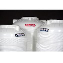 Wellrio Triple Layer Water Storage Tank - White Colour, Capacity(Litre): 500-1000 L, 1000-3000 L