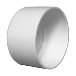 VTC Plastic UPVC End Cap, Size: 1 Inch To 3 Inch