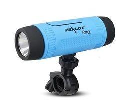 ROQ Zealot Outdoor Bike Mount With 4000mAh Power Bank & Led Flash Light Bluetooth Speaker