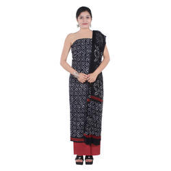 Ladies Hand Block Print Suit