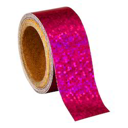 Holographic Pink Color Hula Hoop Tape