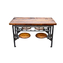 Industrial 4 Seater Dining Table
