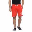 Solid Red Mens Short