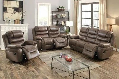 Stanley Leather Reclining Sofa Sets