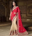 Embroidered Stylish Party Wear Sarees