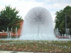 Outdoor Dandelion Fountain