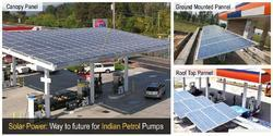 Solar Powered Petrol Pump