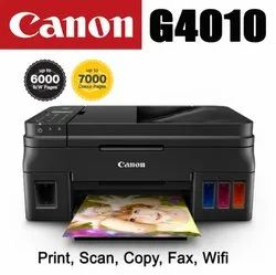 Colored Windows 7 Canon Pixma G4010 All-In-One Wireless Ink Tank Printer, Supported Paper Size: A4, 4800x1200dpi