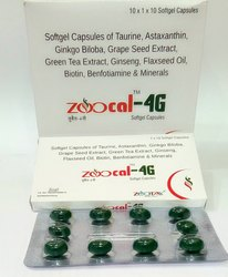 Zoocal-4G Zoocal -4G Softgel Capsule, Packing Size: 10x1x10 Softgel Capsule, Grade Standard: Medicine Grade