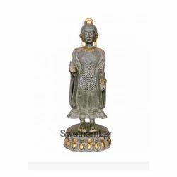 Standing  Brass Buddha Statue