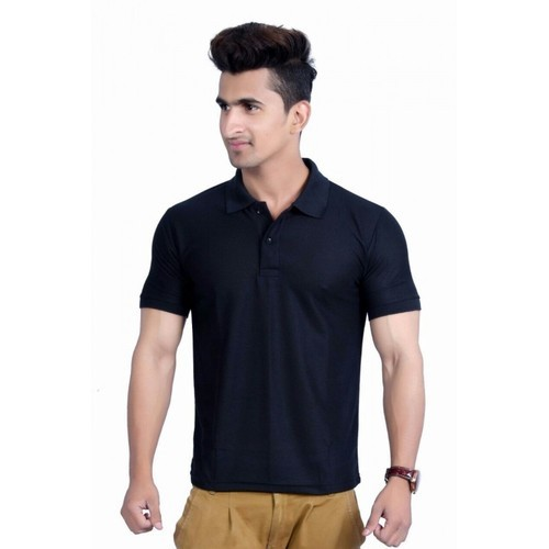 d13e1f6e1dd926 Men's Cotton Half Sleeve Polo T-Shirt, Rs 120 /piece, Aurum ...