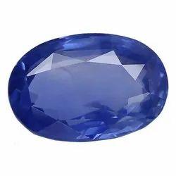 Oval - Cut Natural Ceylon Blue Sapphire